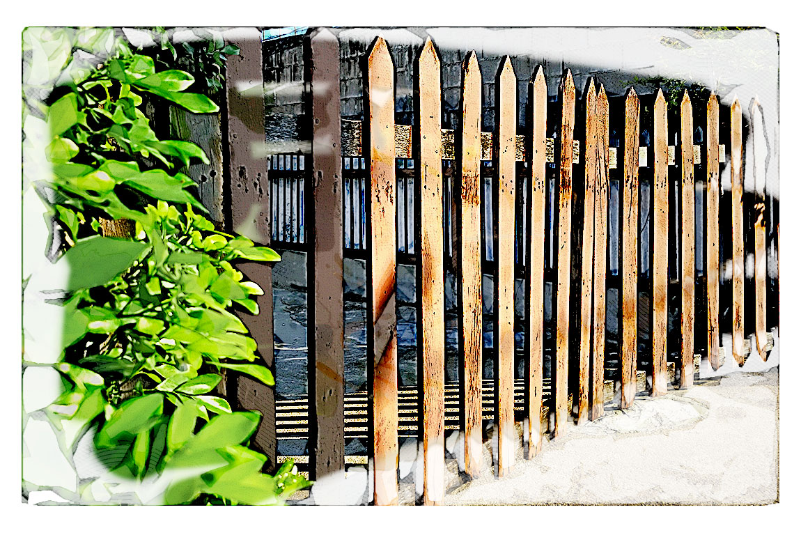 Fences and Gates on Vintage Homes in NELA