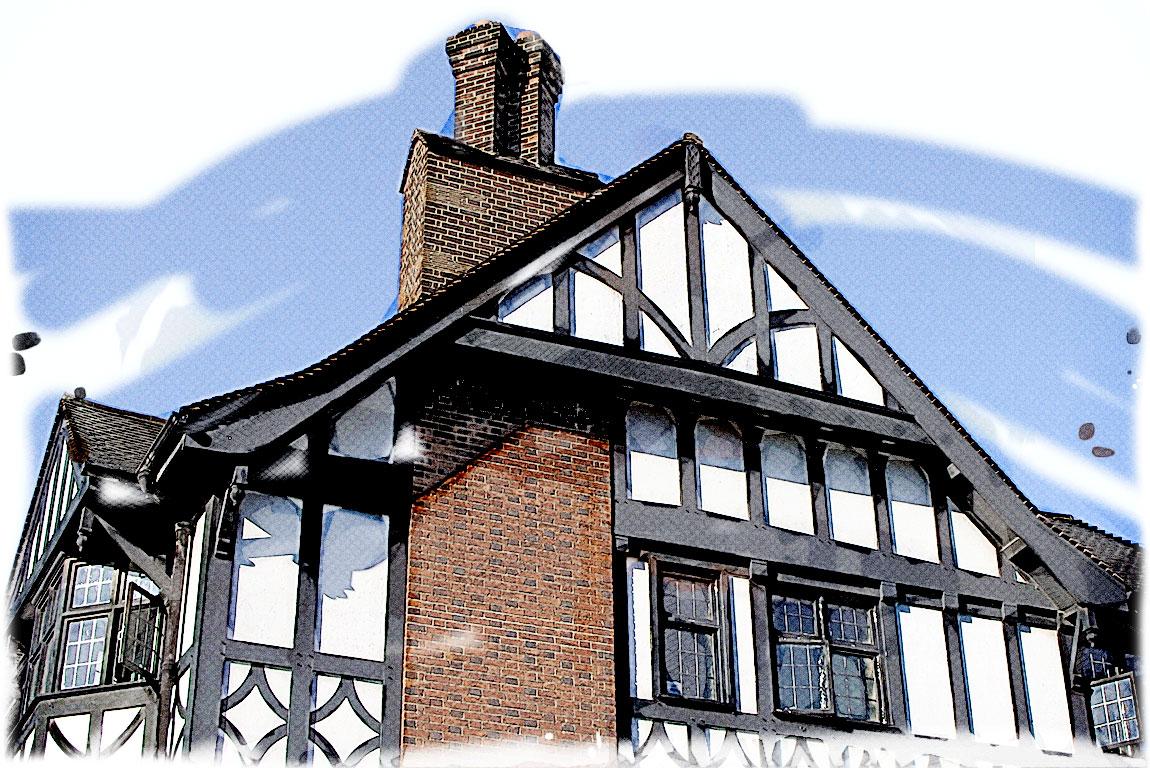 Restoring A Tudor Revival Home in NELA