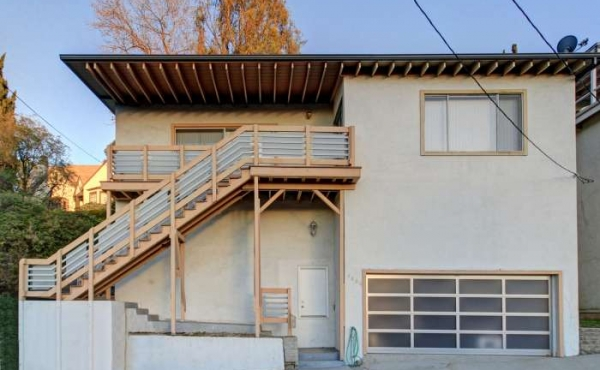 Midcentury Home with Views For Sale in Eagle Rock
