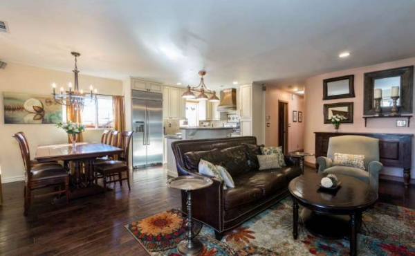 The open living area provides the floor plan modern homebuyers are searching for.