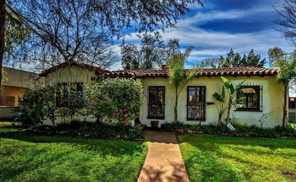 Just Sold Spanish Pool Home in North Hollywood