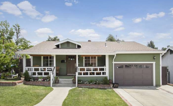 Eagle Rock Craftsman Home with Pool For Sale
