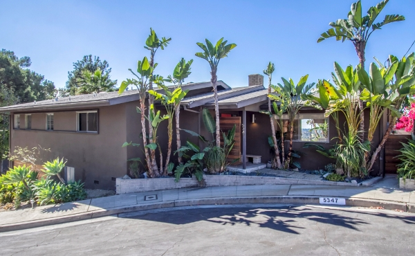 Eagle Rock Midcentury with Killer Views!