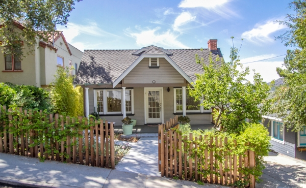 Charming Craftsman Bungalow with Studio For Rent!