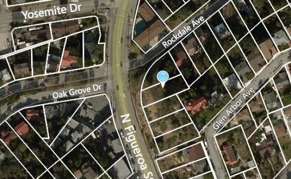 Two Vacant Lots For Sale in Eagle Rock!