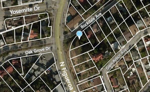 996 N Rockdale Aerial View