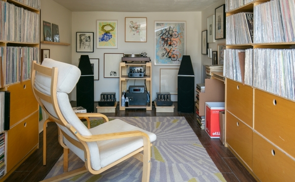 Garage/Record Room