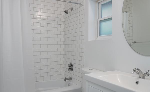 Ensuite Bath in Bedroom 1