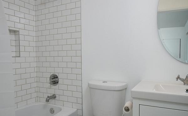 Ensuite Bath in Bedroom 2