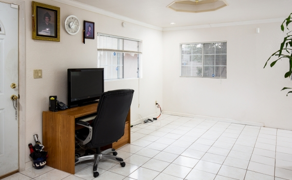Office off rear bedroom