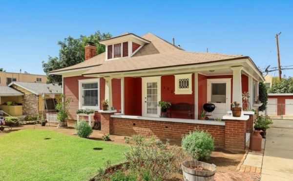 Sold! Craftsman Bungalow in Old Town Monrovia