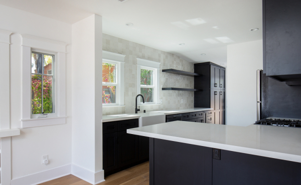 Remodeled Kitchen with Breakfast Bar